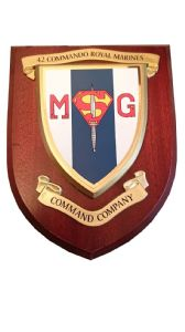 42 Commando Royal Marines Command Company Military wall Plaque
